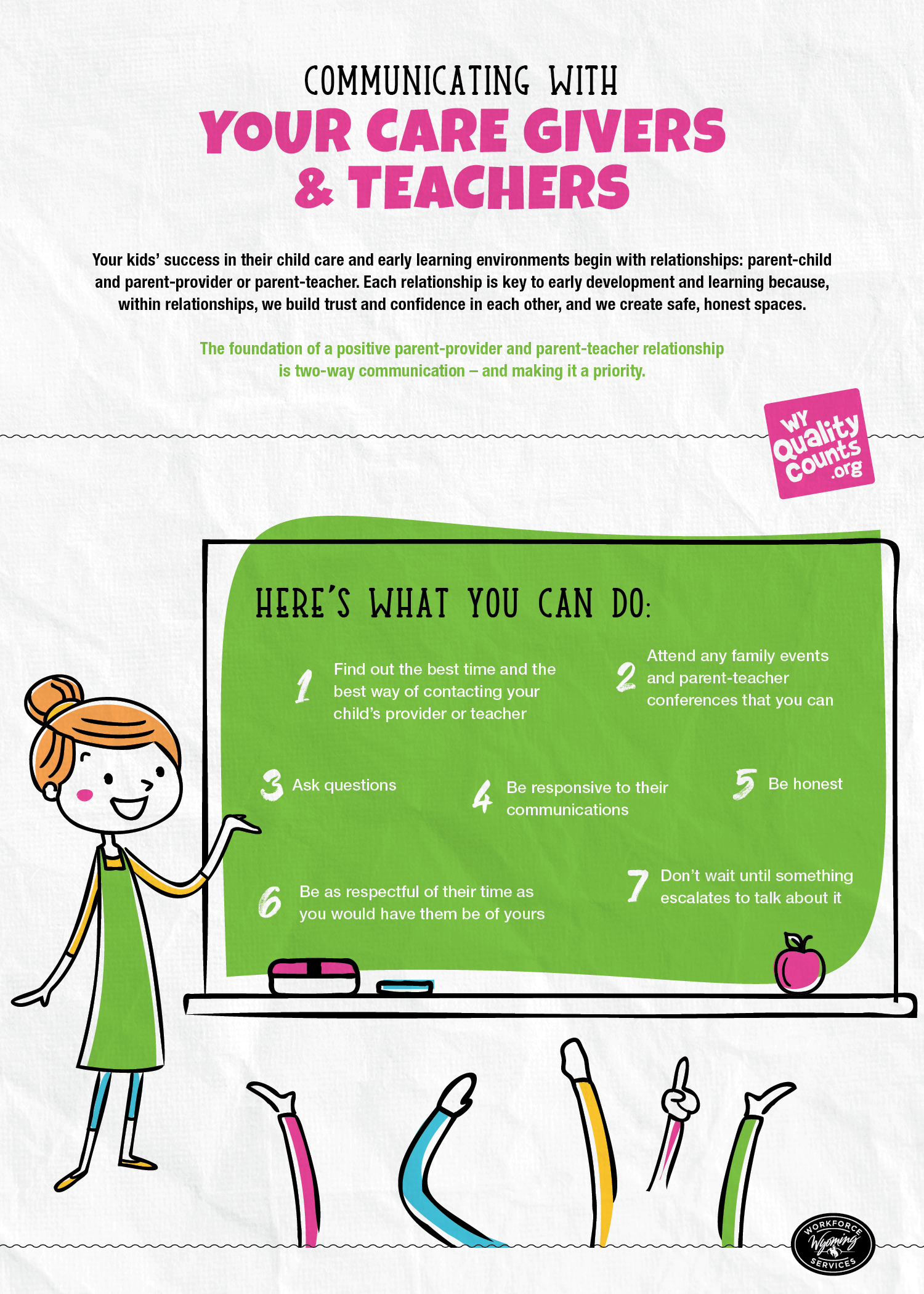 communicating with your childs teacher infographic tips